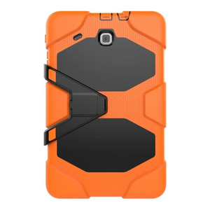 Image 2 - Para samsung galaxy tab e 9.6 ttablet t560 t561 tablet à prova de choque caso duro militar resistente silicone robusto suporte capa protetora
