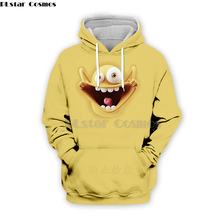 PLstar Cosmos Emoji Ahegao funny lovely Kawaii 3D Hoodies/Sweatshirt long sleeve Men Women Newest streetwear Harajuku fashion-20