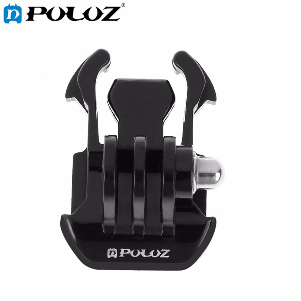 PULUZ for Go Pro Accessories Horizontal Surface Quick Release Buckle for GoPro HERO5 HERO4 SessionHERO 5 4 3 SJCAM SJ7000 SJ4000