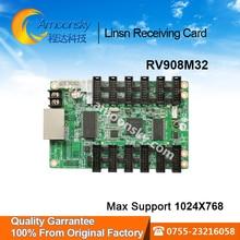 Linsn cartão 908M32 recebeu cartão display led controlador de display led linsn sistema de controle de sincronização