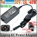 5pcs 20V 2A 5.5*2.5mm AC Adapter Laptop Charger For lenovo IdeaPad S10-2 Series LG X110 X120 X130 MSI U100