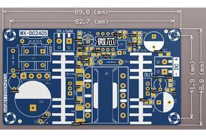Image 3 - Convertidor de CA a CC, 110v, 220v a CC, 12v, 4A, 50W, placa de alimentación conmutada máxima 6A, módulo de fuente de alimentación del controlador LED