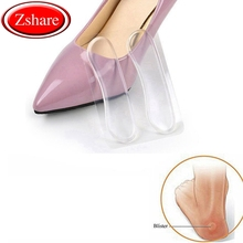 1 Pair Silicone Soft Insert Heel Liner Grips High Heel Comfort Pads Feet Care Accessories HT-4 1 pair soft silicone insert heel liner grips silicone gel heel protector high heel comfort pads feet care accessories