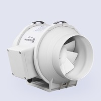 E EMS Free Shipping 5inch 5 Honguan Ventilation System 125mm Inline Fan HF 125P 110V 220V