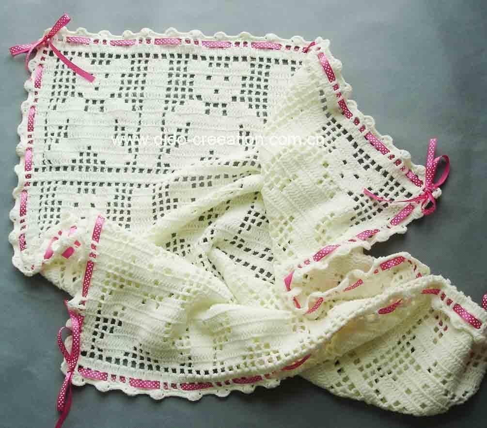 Perfecto Crochet Manta Modelo Ronda Gratis Composición - Ideas de ...