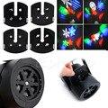 16 Padrões de 4 W Projetor Laser RGBW LED Stage Iluminação Xmas Party DJ Efeito de Luz