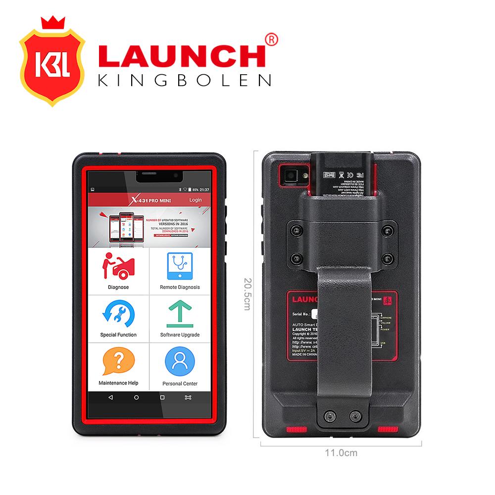 Prix pour Launch x431 pro mini auto outil de diagnostic avec bluetooth complet système puissant launch mini x431 pro mondial version mise à jour en ligne