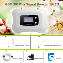 Mini GSM repeater 900mhz booster with smart LCD support 2G voice mobile signal boosters