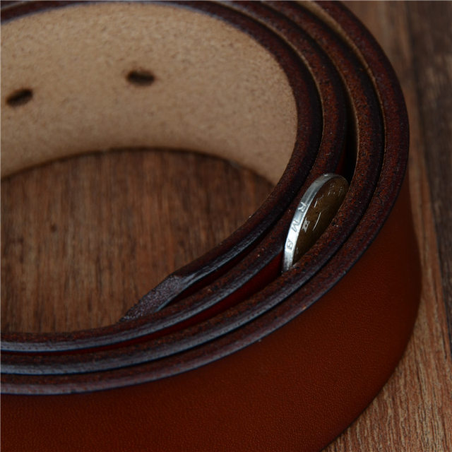 Men's Classic High Quality Genuine Leather Belt