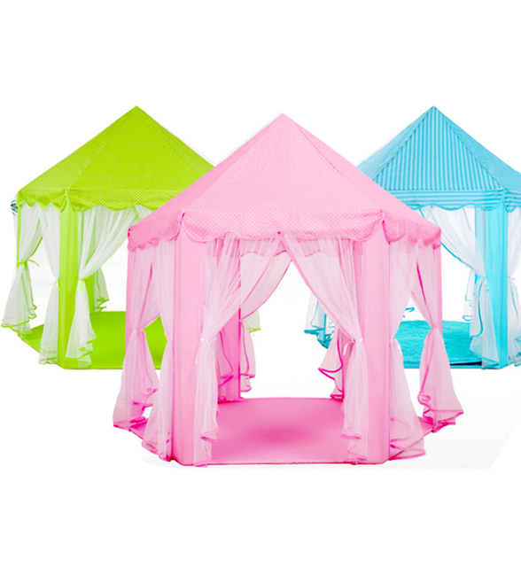 Newest Princess Castle Play Tent Large Hexangular Fairy Princess Castle Tent Spare Extra Room Mosquito Net Tent Role Play Game  sc 1 st  Aliexpress & Online Shop Newest Princess Castle Play Tent Large Hexangular ...