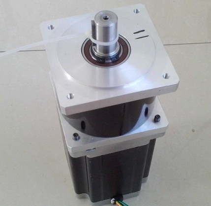 2pcs/lot 5: 1 NEMA34 planetary gearbox Stepper precesion model Motor stepper motor body length 98 mm 2pcs lot high torque planetary gearbox is a no 17 stepping motor 788 oz in 15 1 20 1 25 1 with a 34 mm motor body length
