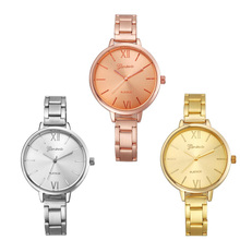 Fashion Watch Women Narrow Width Stainless Band