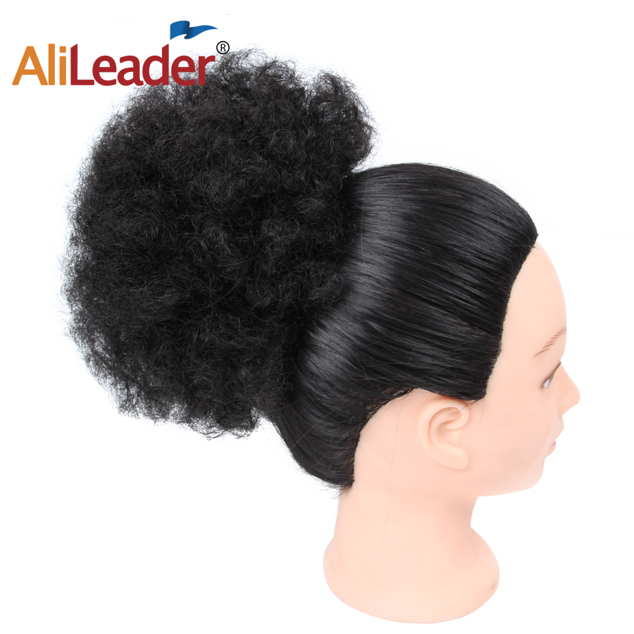 Amicable Alileader Curly Chignons Elastic Extensions Hair Synthetic Hair Ribbon Ponytail Hair Bundles Updo Hairpieces Hair Buns Synthetic Extensions Hair Extensions & Wigs