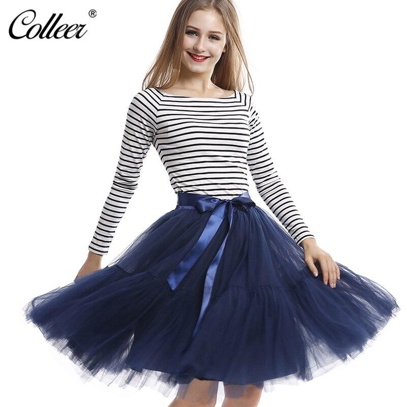 custom made 5 layers midi tulle skirts womens petticoat