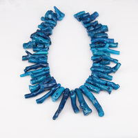 Blue Coral Branch Beads Genuine Natural Blue Stone Beads 15.5 inches Wholesale Coral Beads Semi-precious Coral Beads Supply