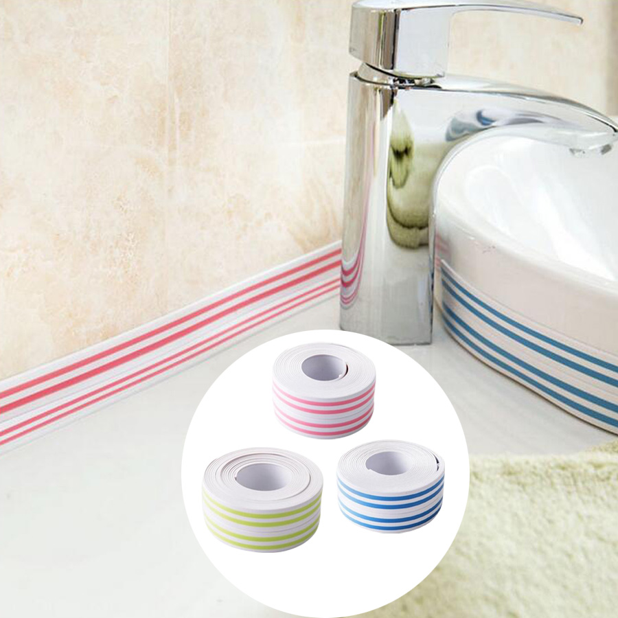 Colorful Kitchen bathroom Sink Stickers Waterproof Mildew Resistant ...