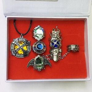 Кольцо kateyo Hitman Reborn Sawada Tsunayoshi, 5 шт., кольцо для косплея в стиле аниме Vongola, подвеска в подарок