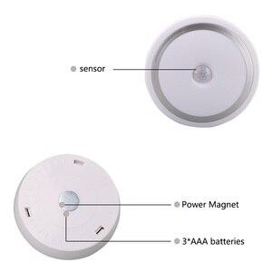 Image 5 - Coquimbo için Mıknatıs PIR Hareket Aktif Gece Lambası Hareket algılama pilli led Sopa her Yerde Işık Sensörü gardırop ışığı