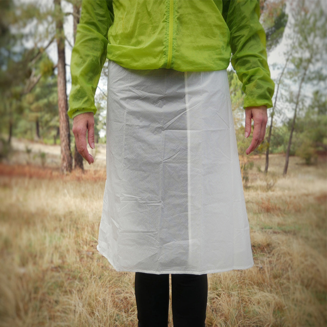 Rain Skirt Cycling Camping Hiking Rain Pants Lightweight Waterproof Rain Skirt 65g