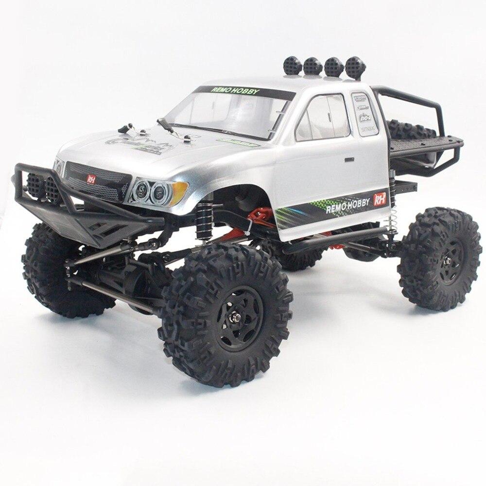 Remo 1093-SJ 1/10 2.4 ghz 550 Brossé RC Voiture Off-road Truck Rock Crawler RTR Automatique Véhicule Jouets De Voiture pour Enfants Cadeau - 5
