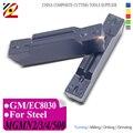 EDGEV MGMN200 MGMN300 mgm400 mgm500 GM EC8030 CNC torno insertos de carburo ranurado herramientas de torneado ranura cortador de acero