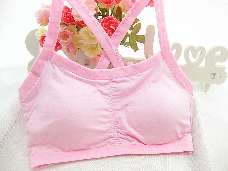 New Lovely Bra Girls Underwear Bra Vest Children Underclothes Sport Undies