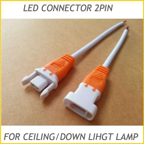 20 Pairs Led Lamp Connector Cable 2pin Single Color Wire for Ceiling ...
