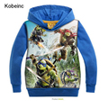 Moleton Menino 2017 Autumn New Fashion Boys Hoodies Kids Hooded Sweatshirt Moda Cartoon Pullover T Shirt Kids Casual Outerwear