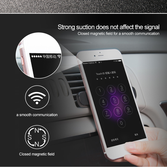 Baseus Car Air Vent Mount Strong Magnetic Phone Holder