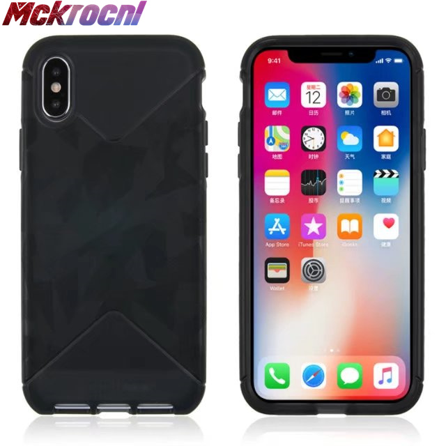 premium selection 7bd50 b9bea MCKROCNL Luxury D30 material mobile phone case for ihpone 6 6s 7 8 drop  resistant soft plastic phone cover for 7 8 plus X coupe-in Fitted Cases  from ...