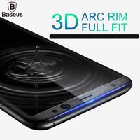 Baseus Premium 3D Arc Tempered Glass For Samsung Galaxy S8 Screen Protector For Galaxy S8 Plus