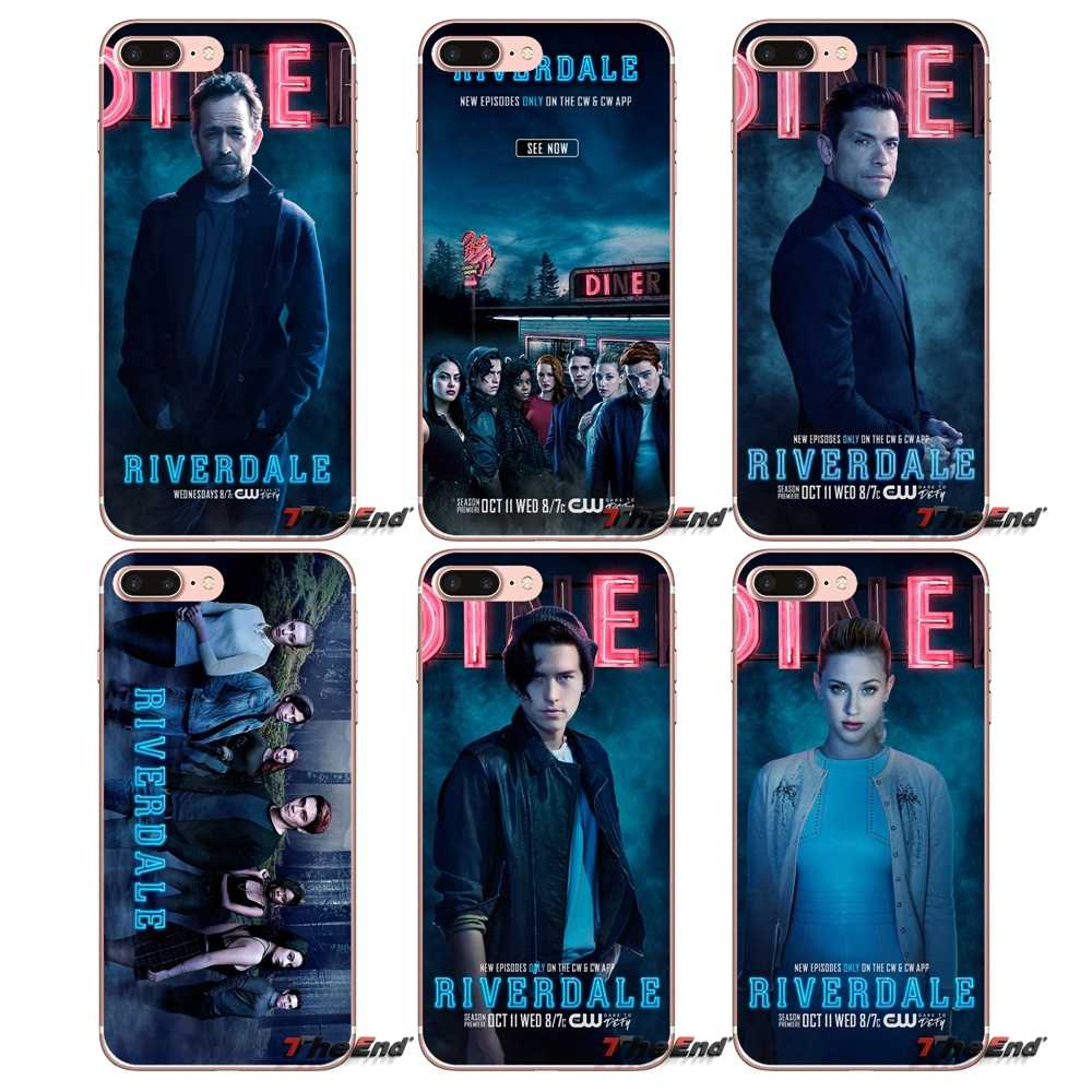 American Riverdale Actors stars For iPhone X 4 4S 5 5S 5C SE 6 6S 7 8 Plus Samsung Galaxy J1 J3 J5 J7 A3 A5 2016 2017 Phone Case