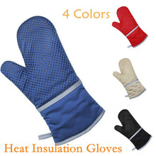 Microwave Oven Gloves Cotton Pot Holders Sets Oven Mits Mitt s Brand New Heat Resistant Protector Kitchen peppermint snowman holiday oven mitt