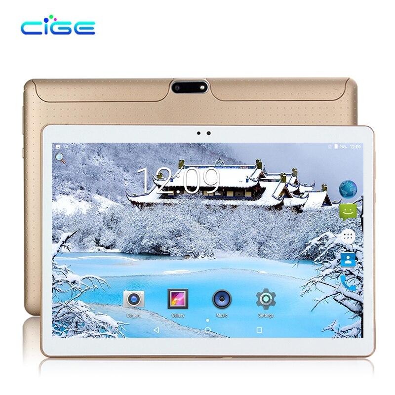 GEIC date 10.1 pouce Date D'origine 3g téléphone comprimés Quad Core comprimés Android 7.0 tablet 2 gb RAM 16 gb ROM GPS Tablet pc WIFI