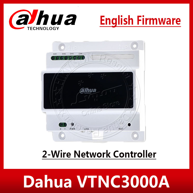 Dahua VTNC3000A Door Intercom Accessory 2-Wire Network Controller For VTH1550CHW-2 Video Intemcom System