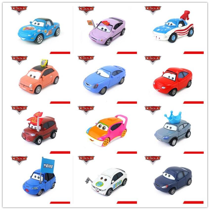 Disney Pixar Cars Lightning McQueen/Mater Fans Diecast Metal  Alloy Mode Car 1:55 Toy Collection Kids Best Gift