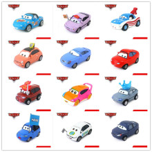 Disney Pixar Cars Lightning McQueen/Mater Fans Diecast Metal  Alloy Mode Car 1:55 Toy Collection Kids Best Gift