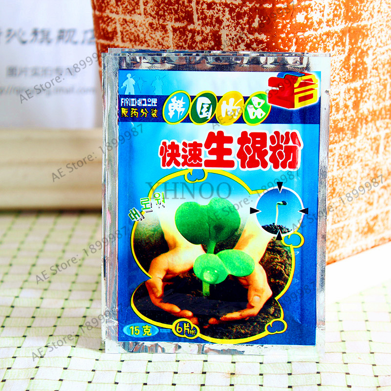 1pcs/bag Fast Growing Roots, Gardenling Germination Aid,flower Bonsai Plant Flores Essential Fertilizer Improve The Survival Rat