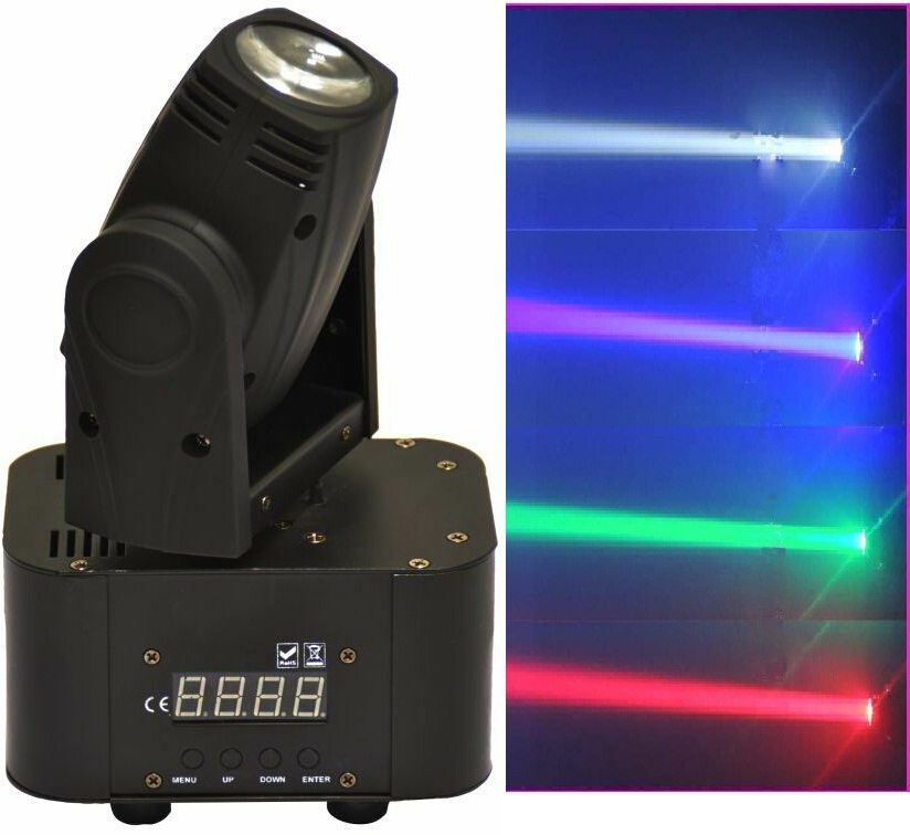 2xLOT Led Stage Lights 10W 4in1 RGBW Mini Moving Head Spot Wash Light DMX DJ Disco Par Laser Projector Sound Party Club Lighting  2017 mini led spider 8x10w rgbw color led moving head beam light dmx stage light party club dj disco lighting holiday lights