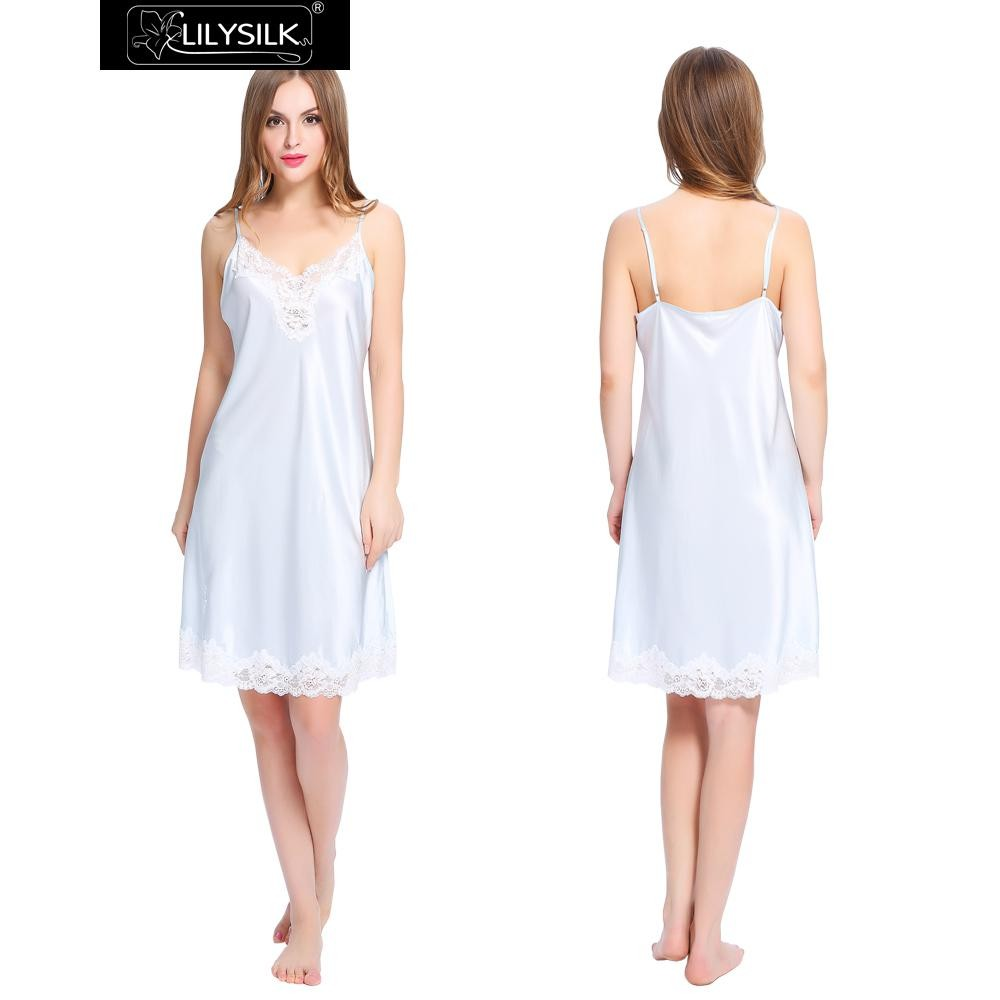 1000-light-sky-blue-mid-length-silk-nightgown-with-lace-trim-01
