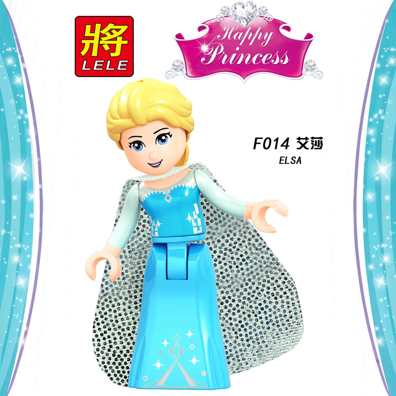 Legoing przyjaciele figurki księżniczka bella Elsa Ariel kopciuszek Anna klocki dla dzieci przyjaciel dla dziewczyny Legoings Toy