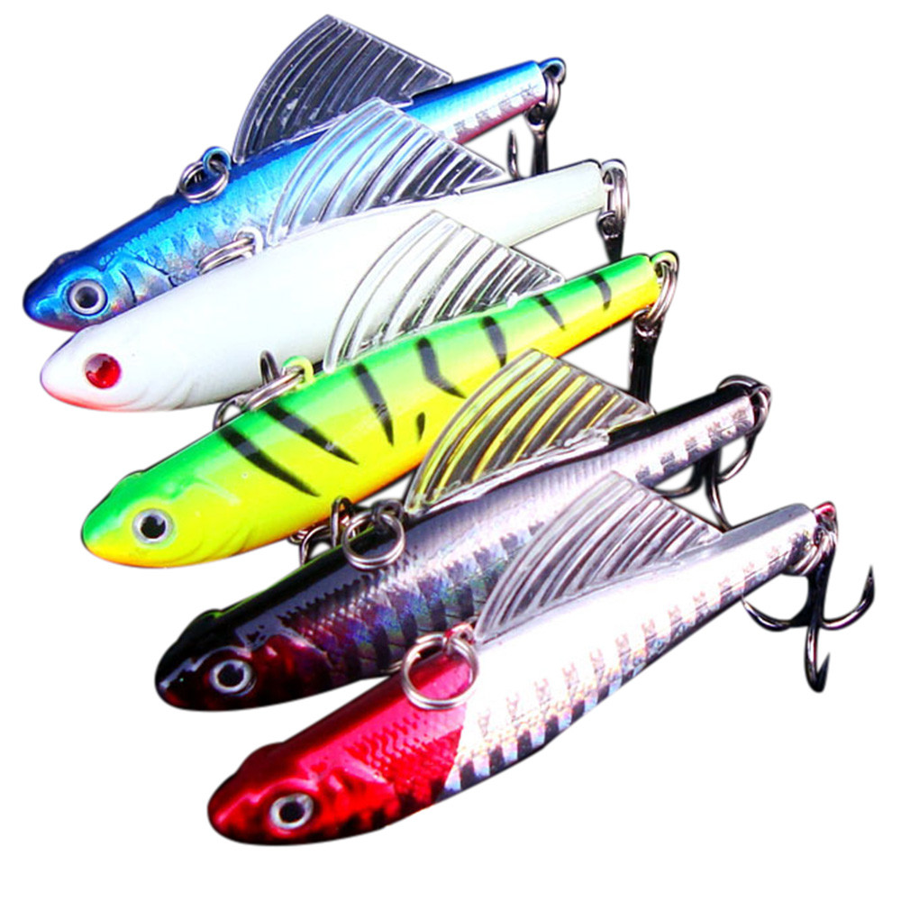 1pcs lure hard bait with sea fishing tackle diving swivel jig wobbler lure HOT AUGUST9
