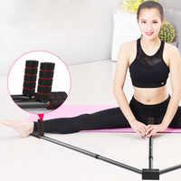 Camilla de pierna de hierro ajustable 3 Bar piernas extensión dividida mechones máquina flexibilidad entrenamiento herramienta Ballet equilibrio Fitness Equipm
