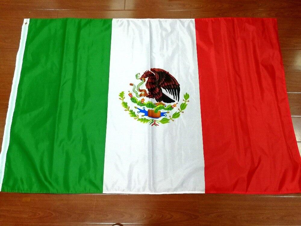 Xiangying 90*150 cm mex mx mexique drapeau Pour La Décoration
