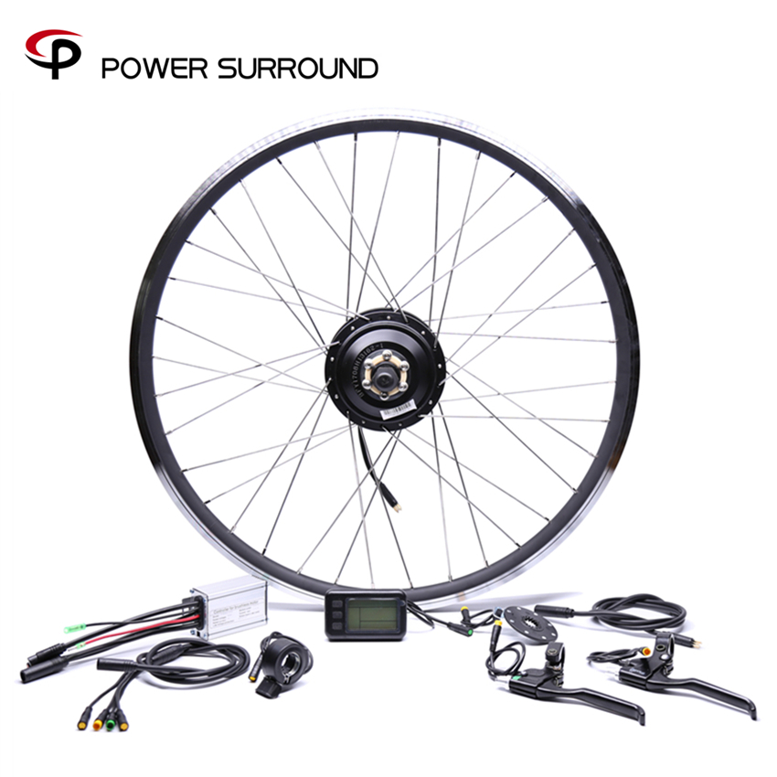 Electric Bicycle Waterproof 36v250w Bafang Front rear Bike Conversion Kit Brushless Hub Motors 20 26 28