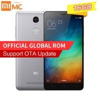 Xiaomi Redmi Note 3 Pro Prime 2GB RAM 16GB ROM Note3 5 5 MIUI7 Snapdragon 650