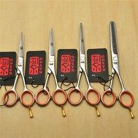 4 0 5 0 5 5 Japan Kasho 440C Professional Human Hair Scissors Hairdressing Scissors Cutting