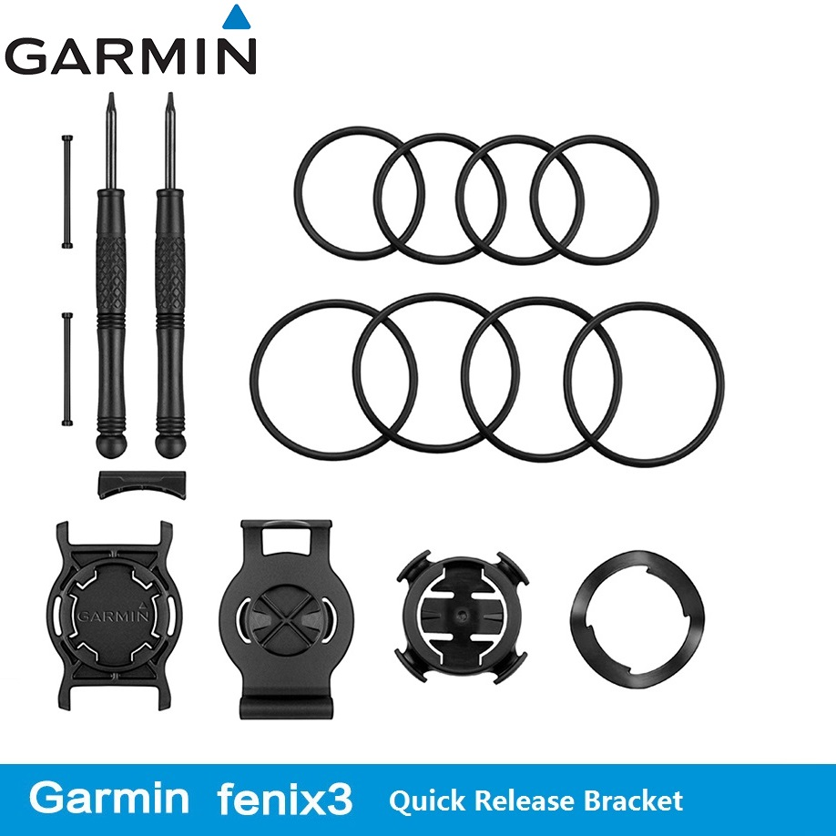 Bike Computer Original Garmin Fenix3 HR 920XT D2 Bicycle Quick Release Subassembly Stents Wrist Strap Component image
