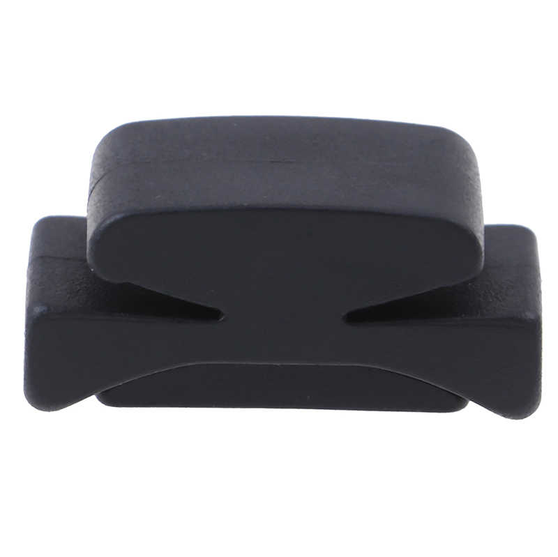 1Pc Black Rubber Guitar Pick Holder Fix On Headstock For Guitar Bass Ukulele Cute Guitar Accessories