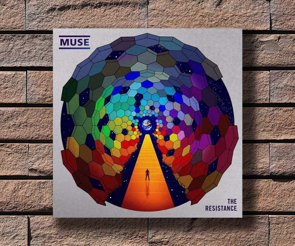 Muse Drones poster wall decoration photo print 24x24 inches